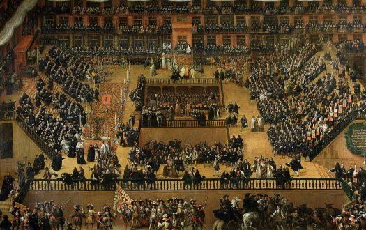 Auto de Fe in the Plaza Mayor de Madrid, 1683