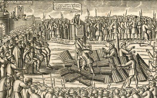 Execution of Hugh Latimer and Nicholas Ridley
