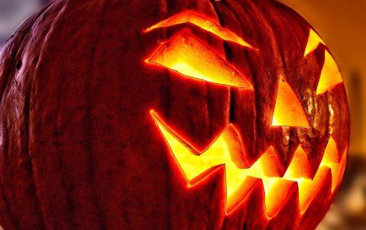 Photo of a halloween pumpkin