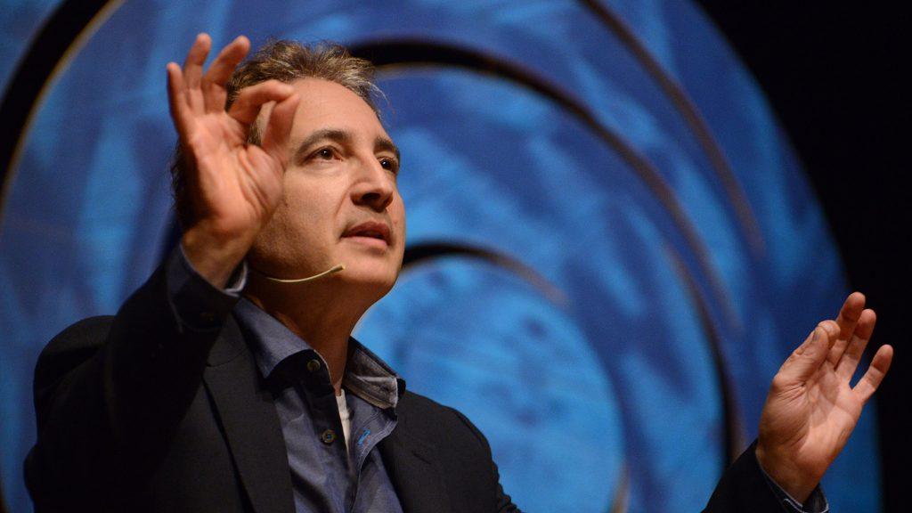 Photo of Brian Greene by Luiz Munhoz/Fronteiras do Pensamento